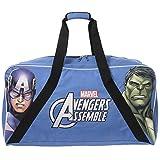 Marvel Avengers Kid's Captain American and The Hulk Duffle Travel Bag