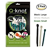Ut Wire Q Knot Pro Reusable Cable Ties, Assorted, Set of 50 (2x 25 Packs)