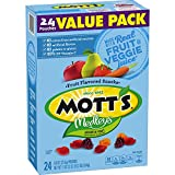 Mott's Medleys Fruit Snacks, Assorted Fruit Gluten Free Snacks, Value Pack, 24 Pouches, 0.8 oz Each