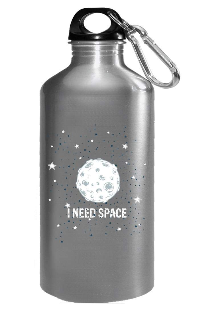 Funny Solar System - I Need Space - Universe - Water Bottle