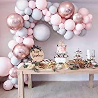Miseagan Balloon Arch & Garland Kit, Party Supplies for Birthday, Baby Shower, Engagement, Wedding