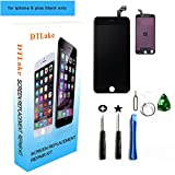 #4: Iphone 6 plus screen replacement,For iPhone 6 plus LCD Replacement screen with Touch Screen Digitizer Fram Assembly Full Set + free Tools (black)