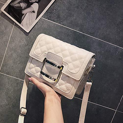 Bag carré Sac été Sac à Sauvage Mode Femme Petit Messenger Sac Blanc bandoulière marée WSLMHH IwTOq800