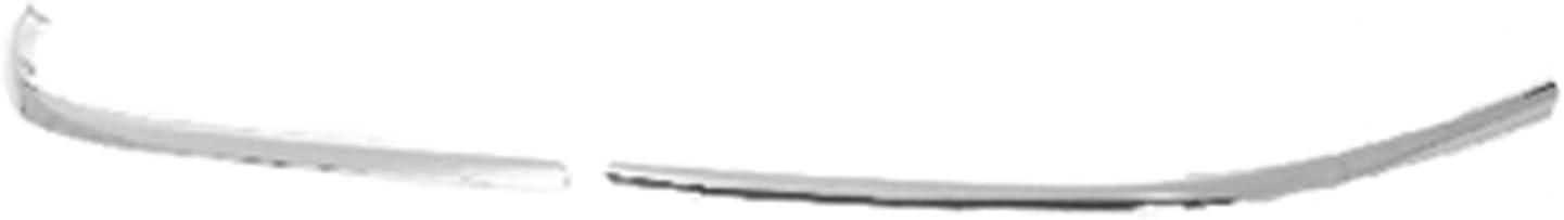 Passenger Side Bumper Trim for 98-02 Lincoln Town Car FO1059273 Crash Parts Plus Chrome Front