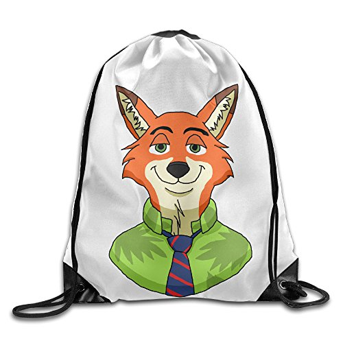 SAXON13 Unisex Funny Cartoon Animal Drawstring Backpack (You Can Draw Cartoon Animals compare prices)
