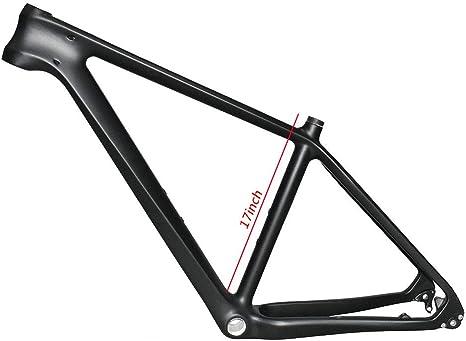 NXXML Cuadro de Bicicleta MTB de Fibra de Carbono de 27.5 Pulgadas ...