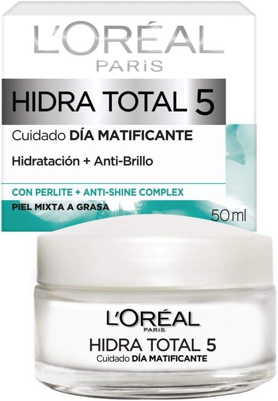 L Oreal Paris Crema Hidratante Piel Mixta Hidra Total5 50 Ml Mx