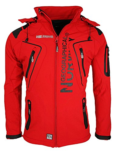 Tangata Men Uomo Giubbotto Giacca Norway Geographical Red Jacket TqPIywUAdy
