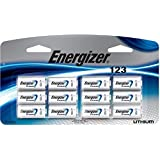 Energizer 123 Lithium Battery 12-Pack