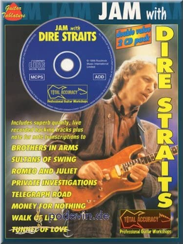JAM with Dire Straits Guitarra – Partituras: Amazon.es ...