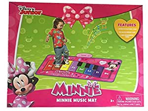 Amazon Com Disney Minnie S Music Mat Electronic Piano