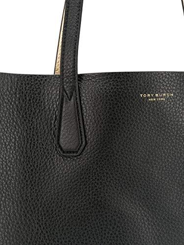 Tipo Tory Cuero Shopper Bolso Negro Burch Mujer 50376002 xYTAqr4Yw