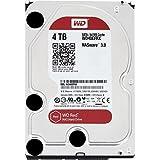 """WD Red - Disco duro para dispositivos NAS de sobremesa de 4 TB (Intellipower, SATA a 6 Gb/s, 64 MB de caché, 3,5"""")-(Reacondicionado Certificado)"""