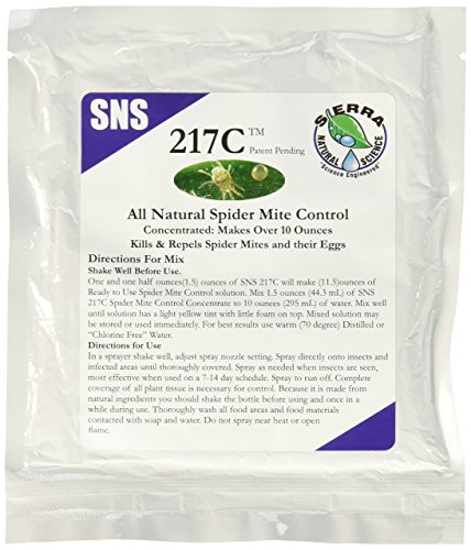 Mite Control Concentrate - SNS 217C Mite Control Concentrate 1.5oz Pouch