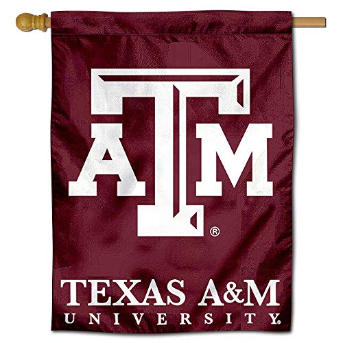 College Flags and Banners Co. Texas A&M University Aggies House Flag