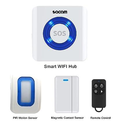 Sistema de alarma de seguridad WiFi Kits funciona con ...