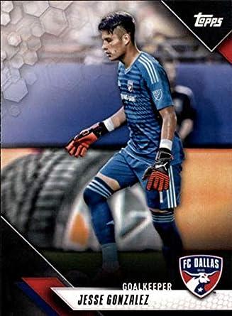 Sportowe karty na wymianę 2018 Topps MLS Major League Soccer Base #173 Jesse Gonzalez Kolekcje