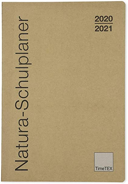 TimeTex Natura 10753 - Agenda escolar (A5-Plus, con cubierta de ...
