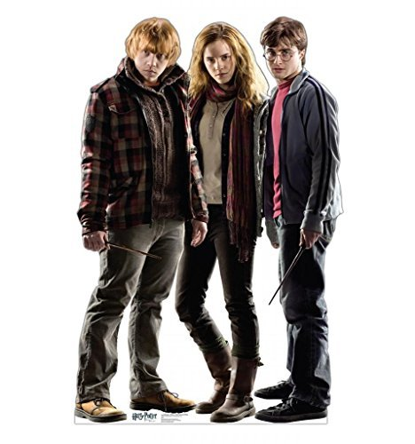 Advanced Graphics Harry, Hermione & Ron (Harry Potter 7) 67'' x 44'' by Advanced Graphics