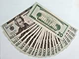 AL'IVER Fake Money $2,000 Prop Money ,Copy Money, Realistic Double Sided Money,100pieces Education, Fun, Play, Gifts
