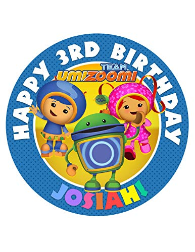 (Team Umizoomi Edible Cake Image Topper Personalized Icing Sugar Paper 8