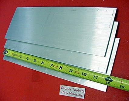 "4 pcs 3//8/"" x 8/"" x 8/"" 6061 T6511 Aluminum bar stock flat bar mini plate"