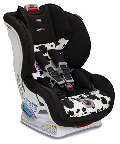 Britax Marathon ClickTight Convertible Car Seat – 1 Layer Impact Protection, Cowmooflage