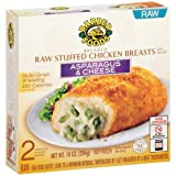 Barber Foods Asparagus and Cheese Stuffed Chicken Breast, 10 Ounce - 12 per case.