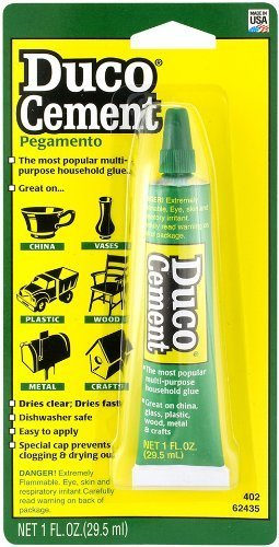 Itw devcon 62435 6 pack duco cement multi purpose for Household cement