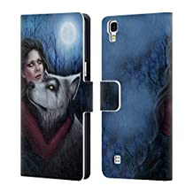 """Official Tiffany """"Tito"""" Toland-Scott Werewolf Queen Vampire And Werewolves Leather Book Wallet Case Cover For LG Nexus 5"""