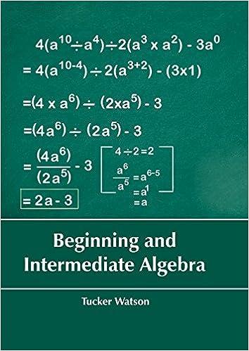 Beginning and intermediate algebra tucker watson 0001635490235 beginning and intermediate algebra tucker watson 0001635490235 amazon books fandeluxe Image collections