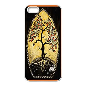 Popular Art Painting - Tree of Life Cell phone Case Cover For Apple Iphone 5 5S Cases FAN184540