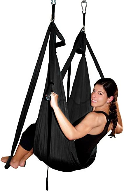 Amazon.com: AGPtEK hamaca aérea para yoga, para ...