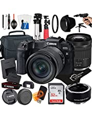 $1469 » Canon EOS RP Mirrorless Camera with RF24-105mm F4-7.1 is STM Lens + Mount Auto Focus Adapter EF-EOS R + 32GB Card + Tripod + Case + MegaAccessory Bundle (22pc Bundle) (SanDisk 32GB)