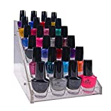 SHANY Vertical Compact Acrylic Nail Polish Table Rack Display For Sale