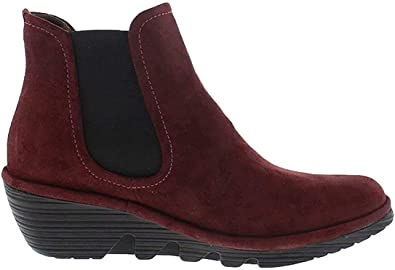 FLY London Womens Phil Suede Chelsea