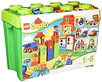 Lego 10580 Duplo Deluxe Box Of Fun Lego Amazoncouk Toys Games