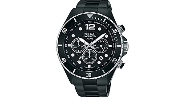 Amazon.com: Pulsar Chronograph PT3721X1 Mens Chronograph Classic & Simple: Watches