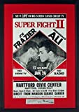"""Replica vintage concert/event posters are intentionally designed with """"vintage"""" imperfections and measure 27 1/4""""h x 19 1/4""""w including frame, smaller than a typical movie poster and the perfect size for wall hanging. They are quality framed ..."""