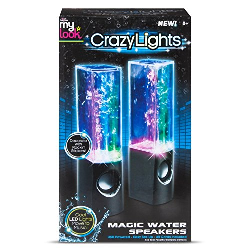 My Look Crazy Lights Magic Water Speakers - My Maui