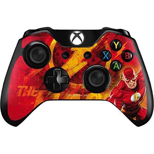 DC Comics Flash Xbox One Controller Skin - Ripped Flash Vinyl Decal Skin For Your Xbox One Controller
