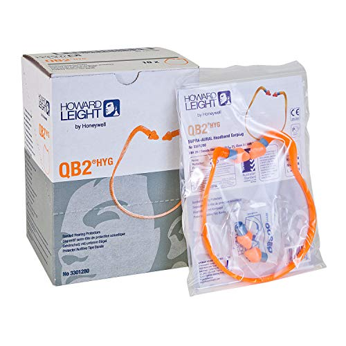 Howard Leight by Honeywell Quiet Band Headband Earplugs 3 Pairs, QB2HYG, (Contains 3 Single Bags, Plus 3 Extra Pairs for Replacement) by Howard Leight (Image #2)