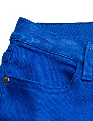 Waist Touch Para Mujer 279 elettric Azul Ajustados Jeans Replay High Blue 4CExqw47
