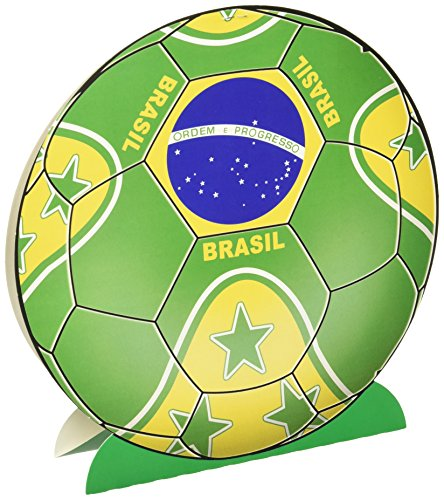 Beistle 3D Centerpiece 10 Inch Brasil