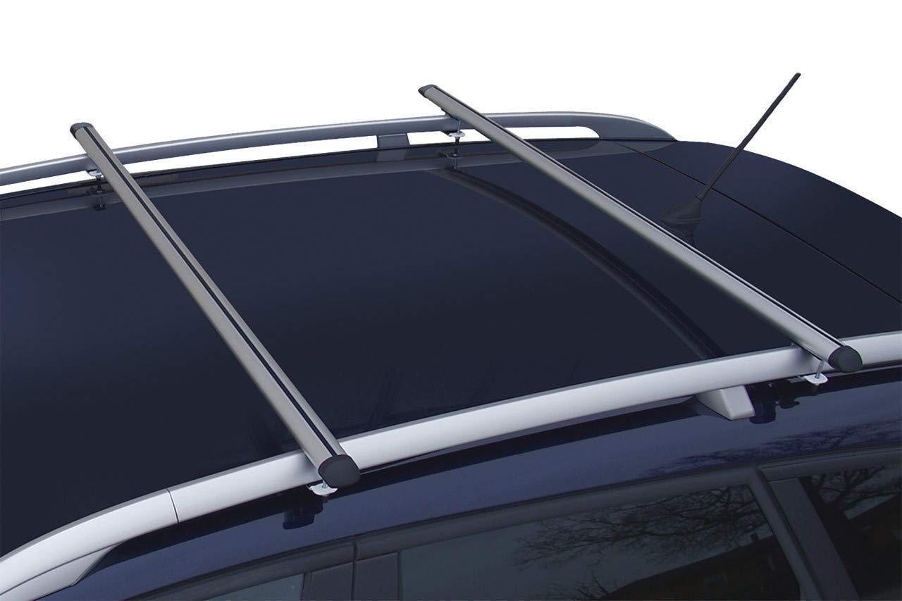 2006-2010 MP Essential Lightweight Aluminium Car Roof Rack Rails Cross Bars to fit BMW X5 E70
