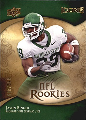 2009 Upper Deck Icons #106 Javon Ringer RC /599 - NM-MT Icon Ringer