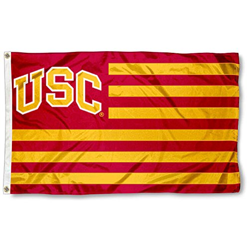 USC Trojans Stars and Stripes Nation - Southern Flag California Trojans