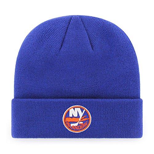 OTS NHL New York Islanders Raised Cuff Knit Cap, Royal, One Size