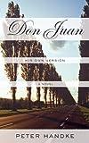 Don Juan, Peter Handke, 0374532648