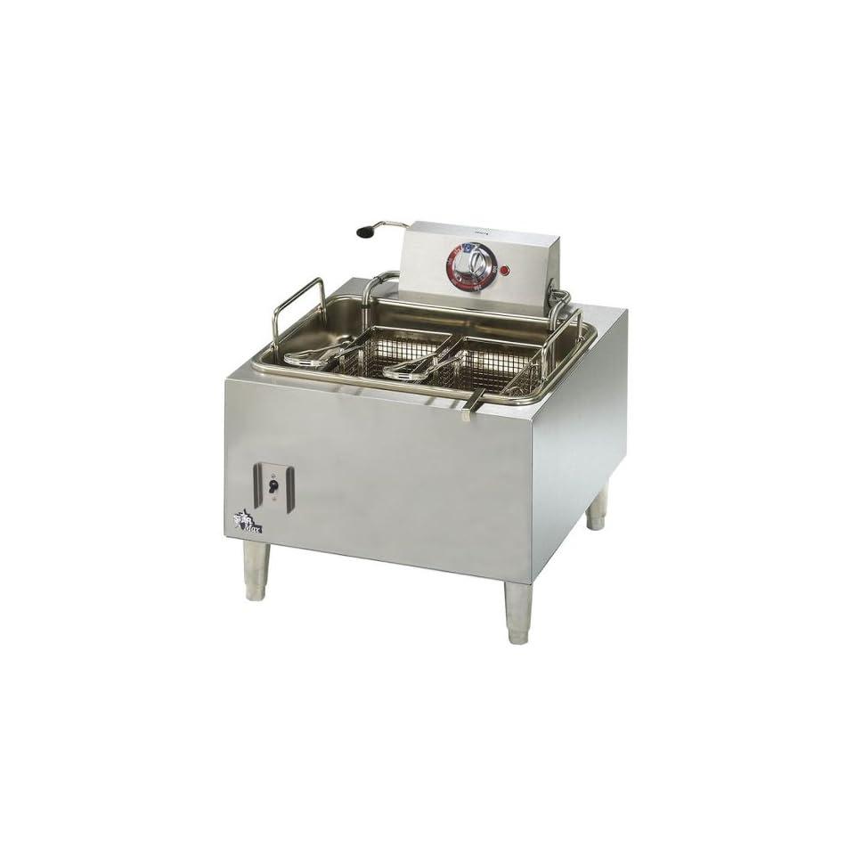 Star 301HLF Star Max 15 Pound Commercial Countertop Deep Fryer 5300W 301HLF Kitchen & Dining